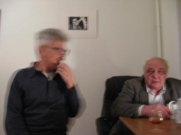 Эдуард Лимонов и Владимир Буковский