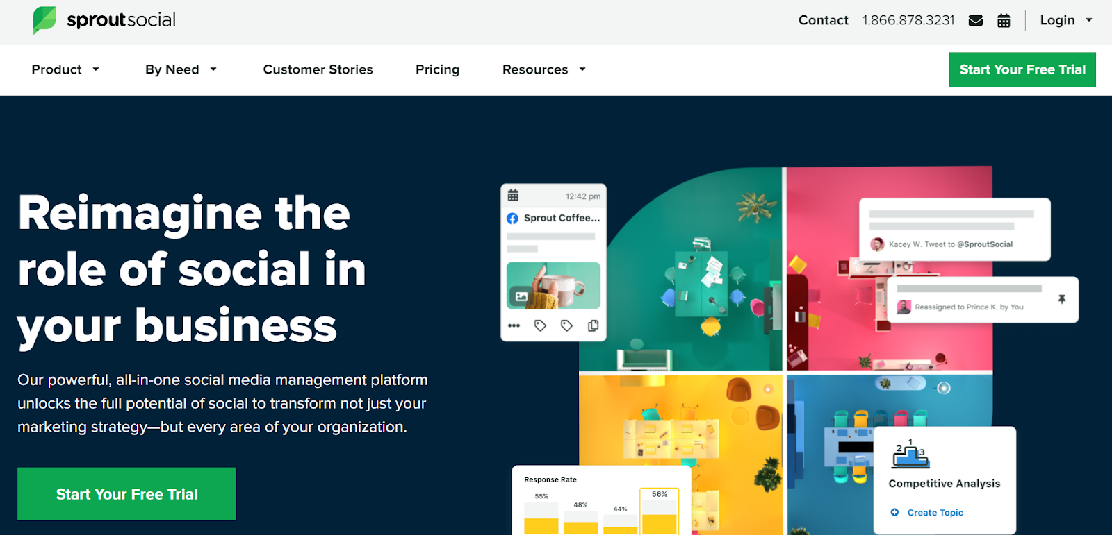 Sprout social: Top 15 Social Media Tools Nigeria Businesses Can Use To Manage Their Accounts