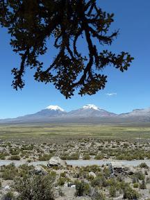 Le Parinacota et le Pomerape