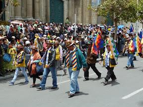 Les mineurs défilent