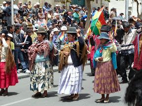 Manifestation pour le cumul des jupes