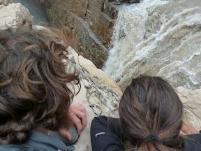 Au bord de la cascade