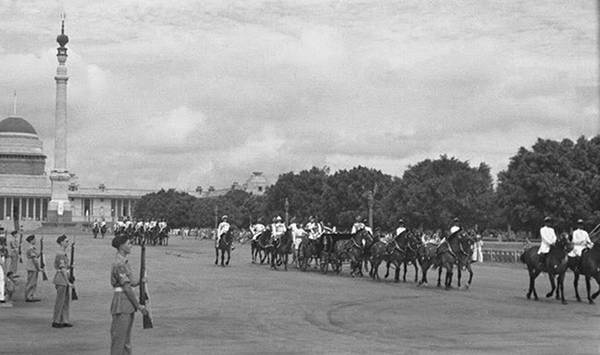 Old India Photos - First parade