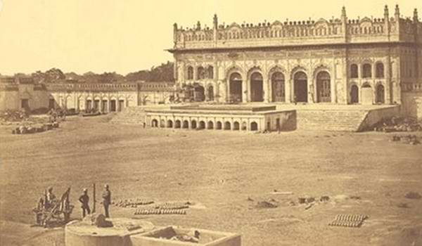 Old India Photos - Imambara, Lucknow, 1857