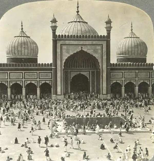 Old India Photos - Jama Masjid