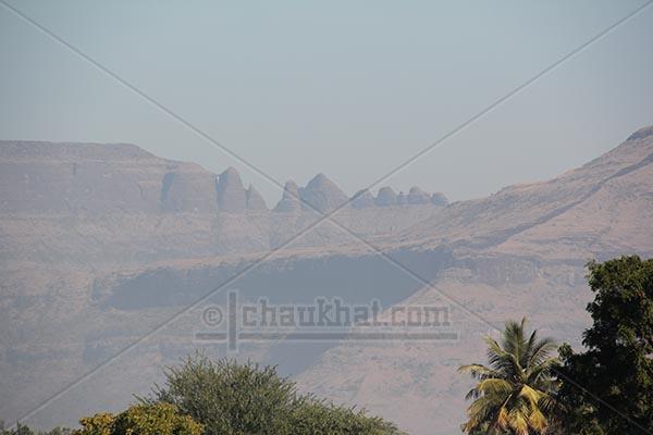 Multiple Peaks - Ground View