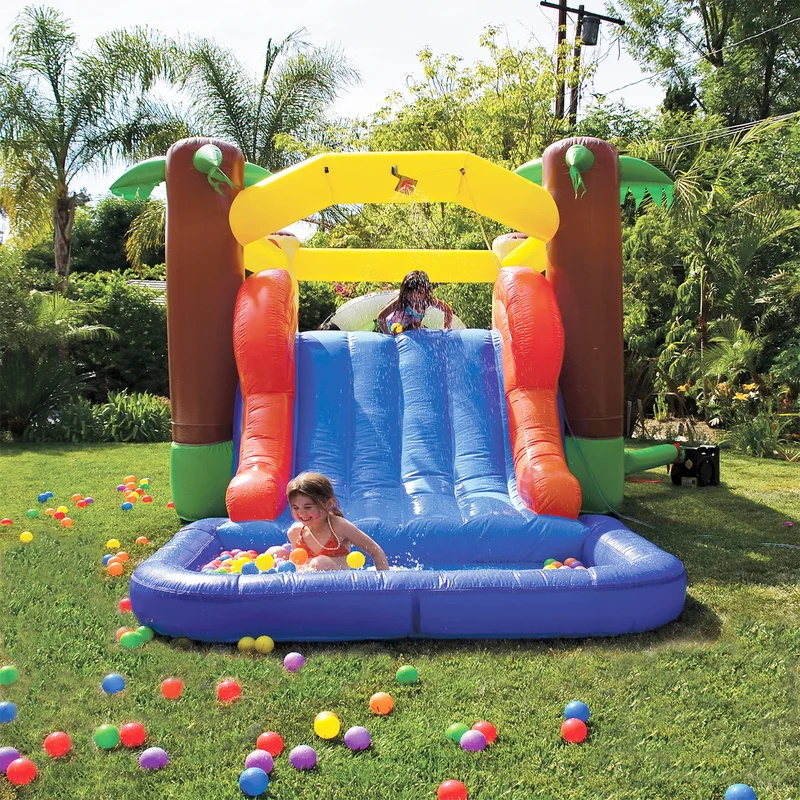 water play bounce house