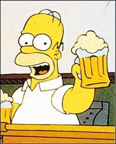 homero cerveza