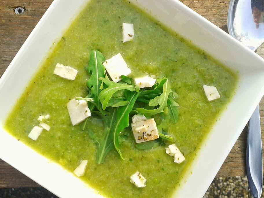 Welcome to Mommyhood: creamy broccoli soup