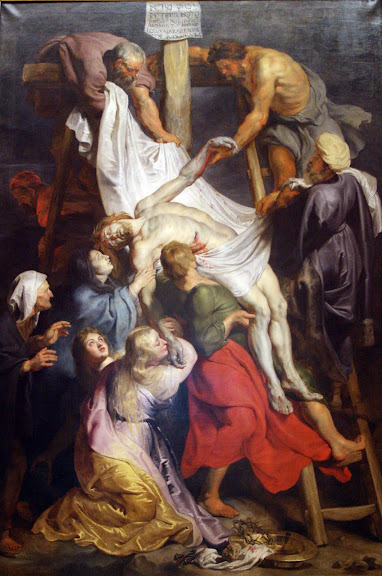 Descent from the Cross, by Peter Paul Rubens