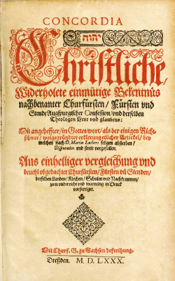 Lutheran Book of Concord