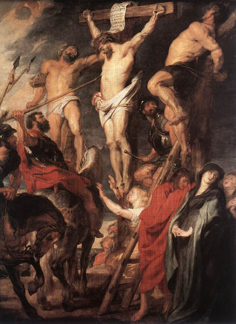 Christ on the Cross, by Peter Paul Rubens