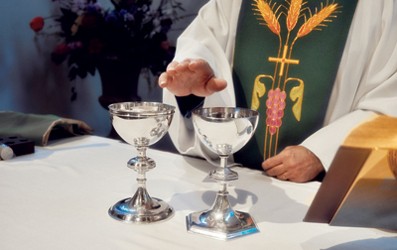 Communion, Consecration of the Elements