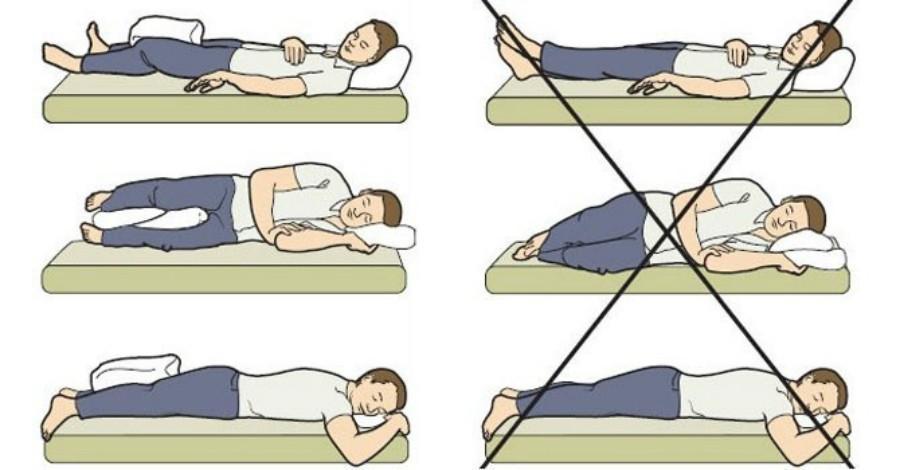 Как спать после эндопротезирования тазобедренного сустава