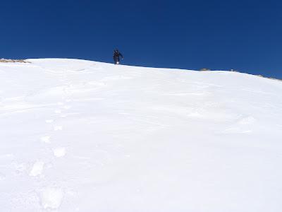 Fort pendent fins al cim nord