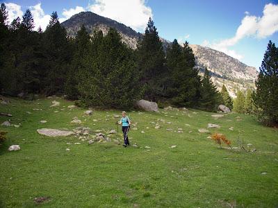 Arribem al fons de la vall de la Llosa