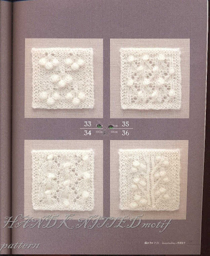 differents points aux aiguilles HAND%20KNITTED%20motif%20pattern%20026
