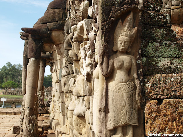 Terrace of the Elephants & Phimeanakas picture cambodia escapade  photo
