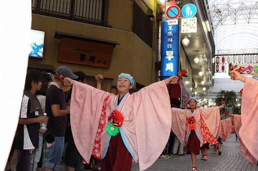 本祭2日目 帯屋町筋演舞場  104     D-16100