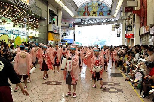 本祭2日目 帯屋町筋演舞場  1     D-15920