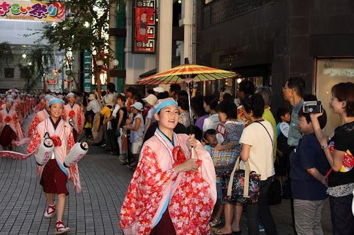 本祭2日目 帯屋町筋演舞場  92     D-16077