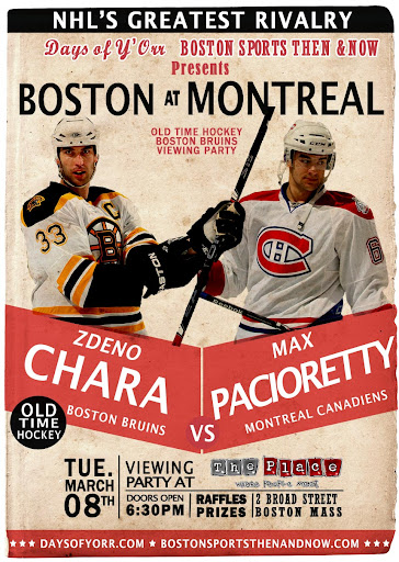 Chara vs. Pacioretty