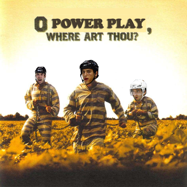o power play, where art thou?