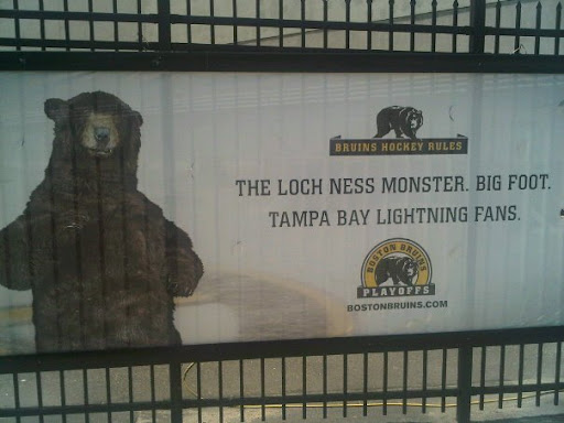 Boston Bruins Hockey Rules Tampa Bay