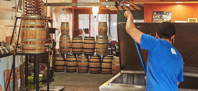 A Look Inside Wood's High Mountain Distillery