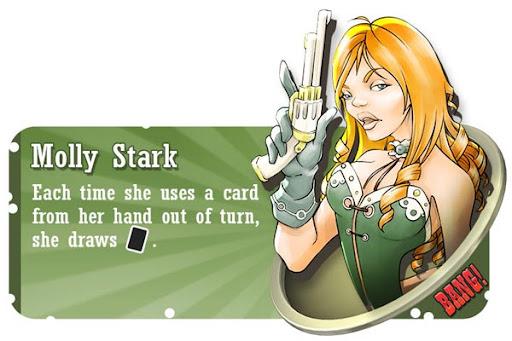 Molly Stark BANG! card game character