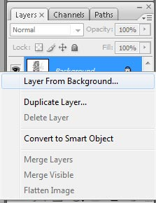 Layers menu 1