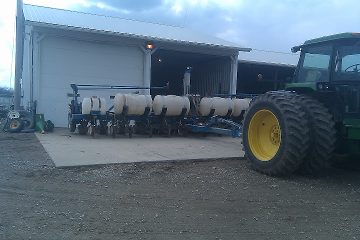 Getting Corn Planter Ready For Spring!