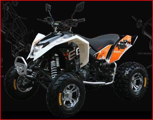 300cc Mad Max Race Quad Bike Sports Atv with EGL Watercooled Taiwanese Engine