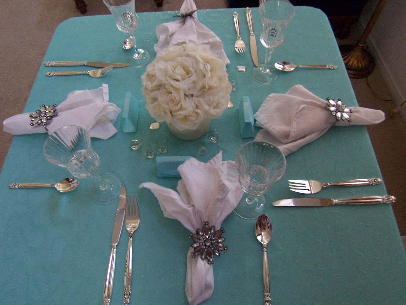 The table is set... ..