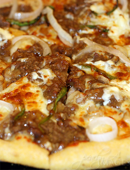 philly cheese steak pizza