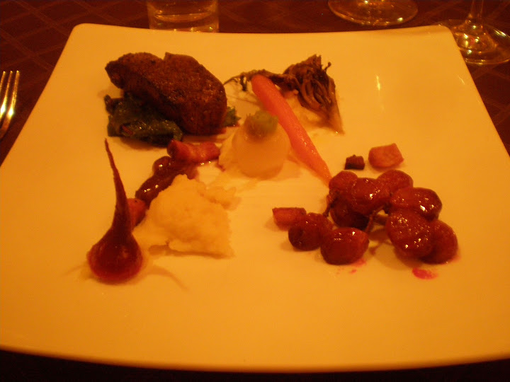 Deconstructed boeuf bourguignon