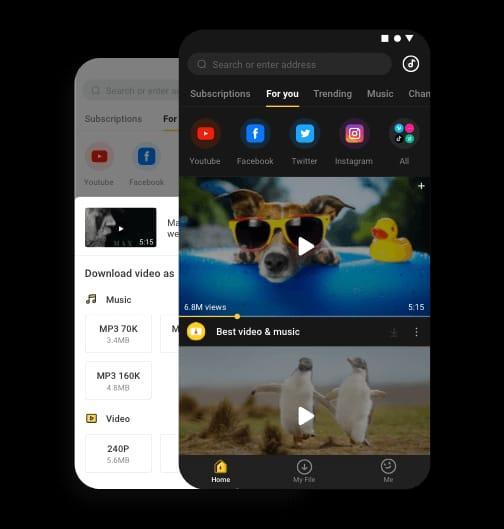 Snaptube: uma app segura para fazer download de vídeos e músicas