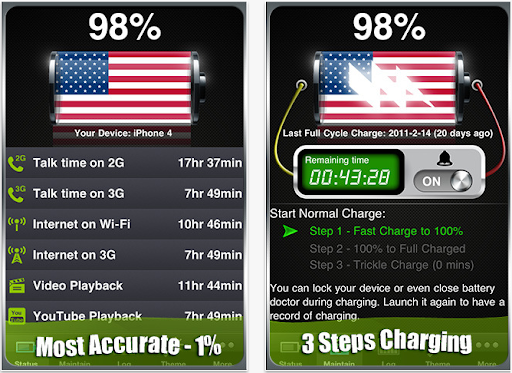 Battery Doctor Pro - Max Your Battery Life for iPhone  iPod touch  and iPad