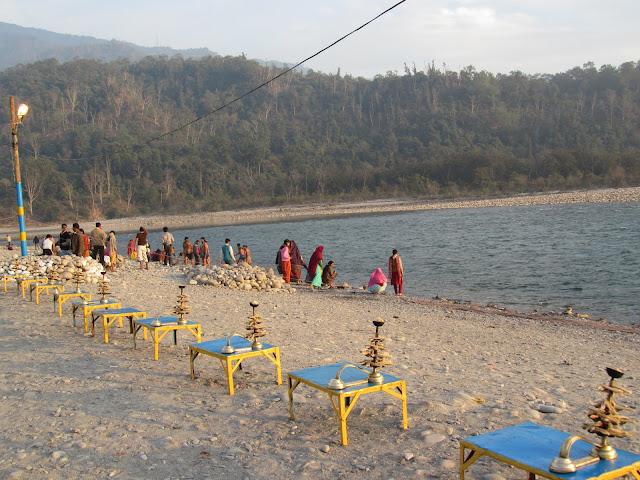 Triveni Ghat, Rishikesh, Uttarakhand, India