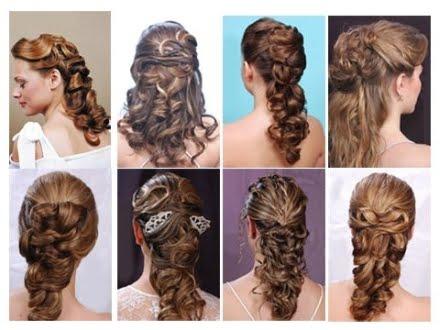Peinados Para Pelo Largo Rizado Faciles