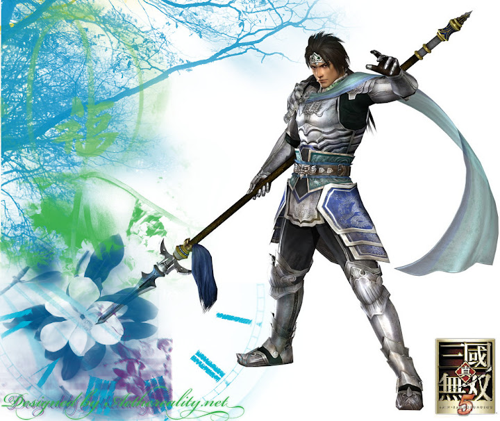 Hyrule Warriors Dynasty_Warriors_6___Zhao_Yun_by_xX_PumpkinQueen_Xx