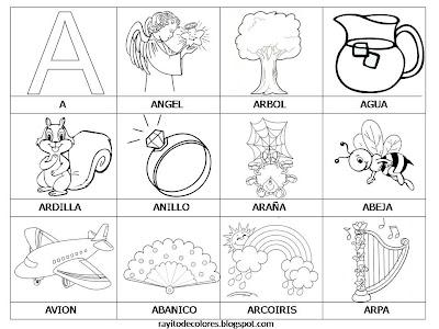 Rinconcito Soleado Aprendiendo Palabras 29 Fichas Infantiles Para