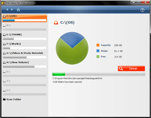 Download Disk Space Fan-Best Disk Analysis Tool