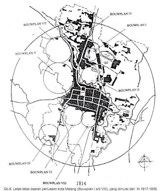 lokasi Bouwplan I -VIII