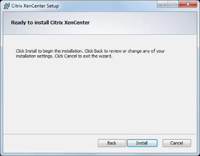 Instalar Citrix XenCenter para administrar servidores Citrix XenServer en un equipo con Windows 7