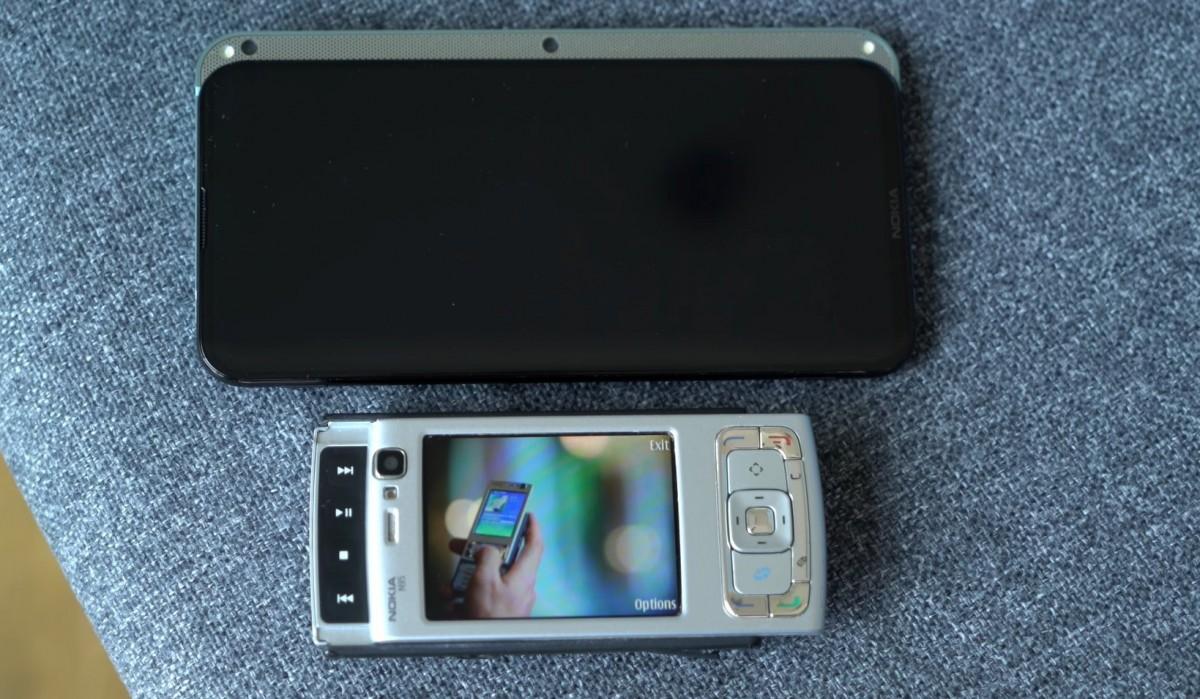 Reborn Nokia N95 shown on video