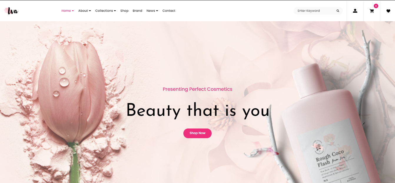 Iva - Cosmetic Woocommerce theme