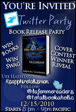 The Sapphire Talisman Twitter Party Today