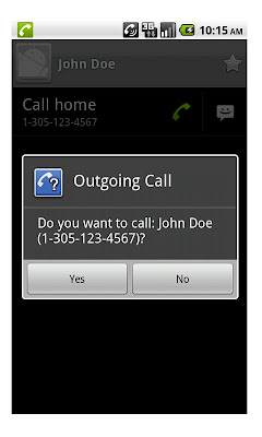 Avoid Accidental Phone Calls With Outgoing Call Confirm