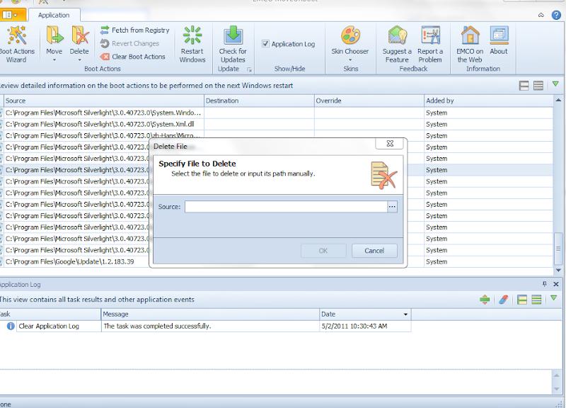 how to delete locked files windows 7